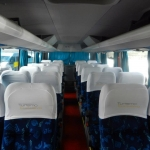 Micro-ônibus interior