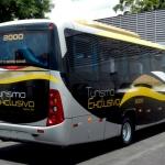 Micro-ônibus traseira
